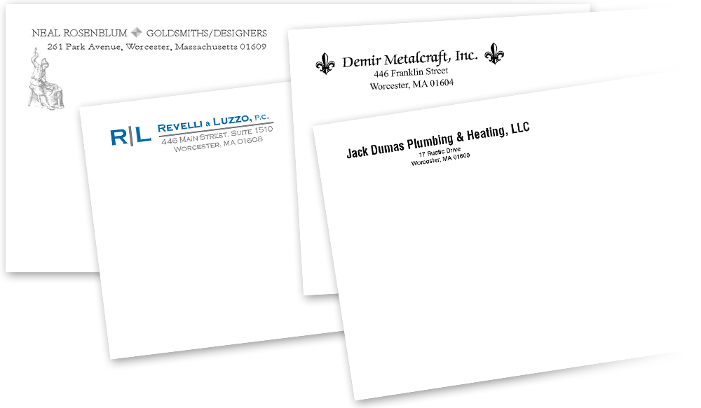 corporate envelopes and letterheads stationery design printing
